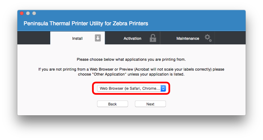 Print shipping labels directly from the UPS website to your thermal