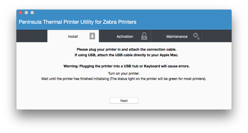 Print labels directly from VendHQ to your thermal printer on Mac